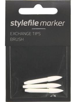 Stylefile Marker 3x Brush exchange tip