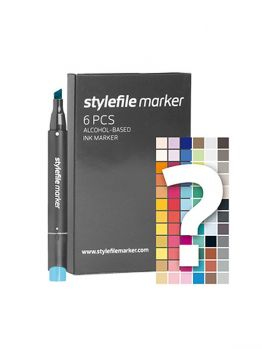 FREE Stylefile 6 markers set (with purchase of any Stylefile set)