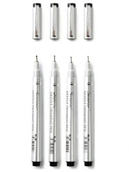 Superior Fineliner 4 marker set (Basic)