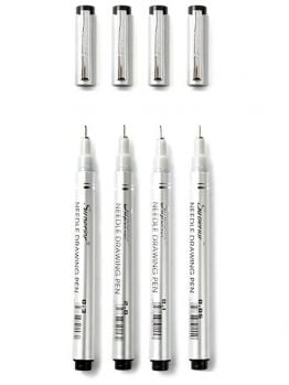 Superior Fineliner 4 marker set (Fine)