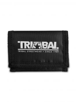 Tribal Velcro Wallet - Black