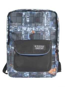 Mr.Serious Prime Backpack (Zedz Collection) Dutch Blue