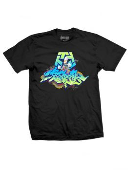 Tribal t-shirt (Huit Wildstyle)- Black