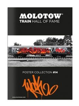 Molotow Train Hall Of Fame Collection Wok #14