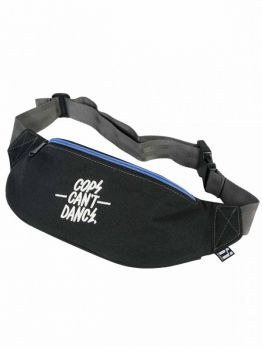 Mr.Serious Vice Bag (Cops Can't Dance) - Black / Light Blue