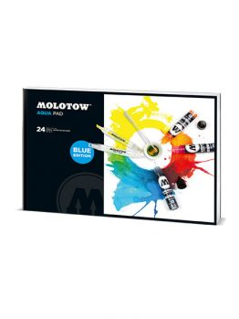 Molotow AQUA Pad (39 x 27 cm)) BLUE edition
