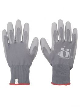 Mr.Serious Winter PU coated gloves - Grey