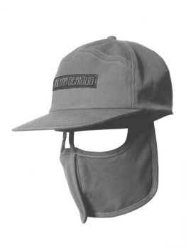 Mr.Serious 6 panel hat (Unknown) - Grey