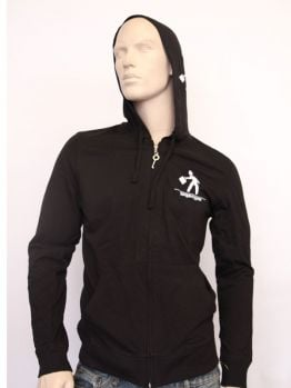 Indecline Zip Hoodie (OG Bobby Johnson) Black