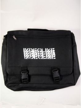 Indecline Side Bag (Legalize Crime) Black