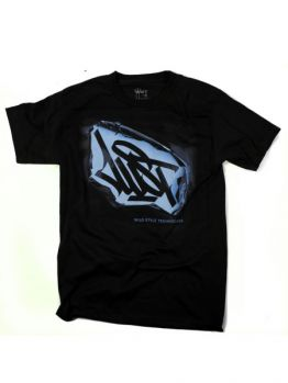 Wild Style Technicians T-shirt (Mass a peel) - Black